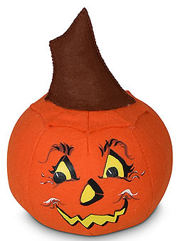 "Annalee 5"" Jack O Lantern Pumpkin 2020 - Mint - 311020"
