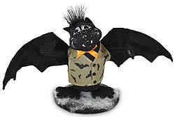 """Annalee 6"""" Bat with Vest 2020 - Mint - 311120"""