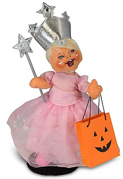 "Annalee 6"" Wizard of Oz Trick or Treat Good Witch Glinda 2019 - Mint - 311219"