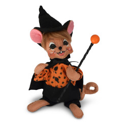 "Annalee 6"" Spider Warlock Boy Mouse 2018 - Mint - 311518"