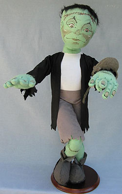 """Annalee 30"""" Franky the Frankenstein and Friend - Near Mint / Excellent - 332302b"""