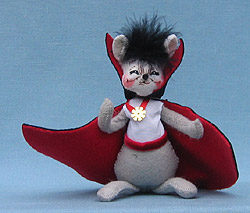"Annalee 4"" Dracula Mouse - Mint - 323106"