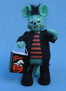 """Annalee 5"""" Frankenstein Mouse - Mint - 328002"""