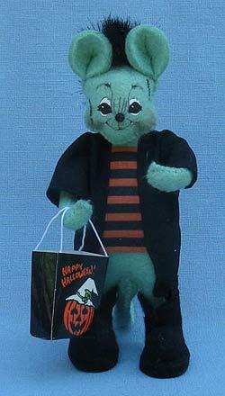 """Annalee 5"""" Frankenstein Mouse - Near Mint - 328002ox"""