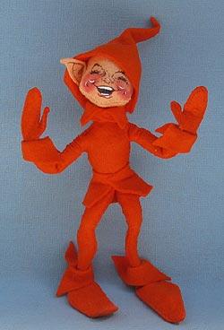 "Annalee 10"" Orange Fall Elf - Mint - 330087orxo"