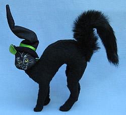 "Annalee 8"" Scared Cat - Near Mint - 330704a"