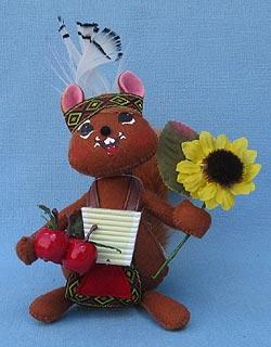 """Annalee 6"""" Indian Squirrel - Mint - 350912"""