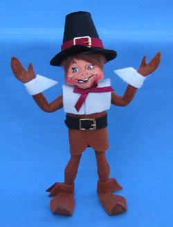 """Annalee 9"""" Pilgrim Boy Elf - Mint - 351208"""