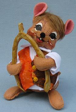 "Annalee 6"" Wishbone Boy Mouse 2017 - Mint - 351417"