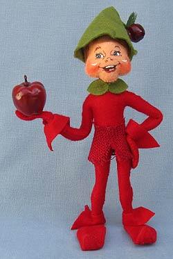 """Annalee 9"""" Red Apple Elf 2013 - 351613 - Mint"""