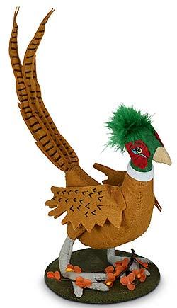 """Annalee 6"""" Pheasant 2020 - Mint - 361020"""