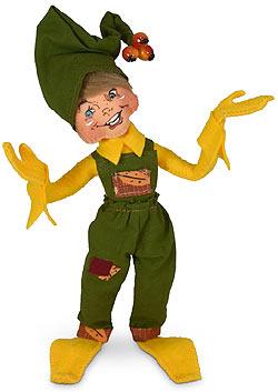 "Annalee 9"" Yellow Fall Elf 2020 - Mint - 361720"