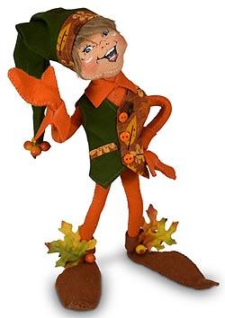 "Annalee 12"" Orange Fall Elf 2020 - Mint - 361820"