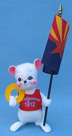 """Annalee 7"""" State Quarter Mouse - AZ - Mint - 384706"""