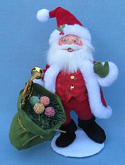 "Annalee 9"" Christmas Delights Santa - Mint - 400512"