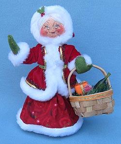"Annalee 9"" Christmas Delights Mrs Santa - Mint - 400612"