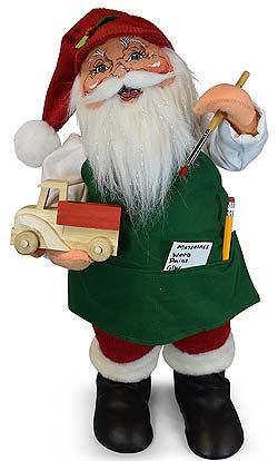 "Annalee 18"" Workshop Santa Painting Truck 2019 - Mint - 410919"