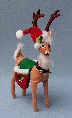 "Annalee 8"" Classic Reindeer - Mint - 450409"