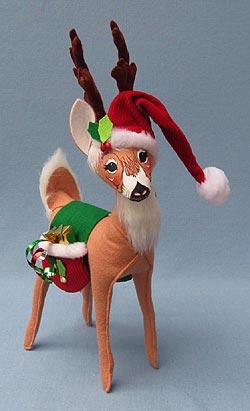 "Annalee 12"" Classic Reindeer - Mint - 450709"