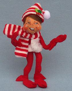 "Annalee 5"" Red MerryMint Elf 2014 - Mint - 500014"