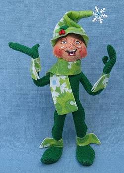 "Annalee 5"" Snowflake Elf - Mint - 500112"