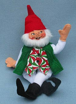 """Annalee 5"""" Starlight Peppermint Gnome - Mint - 500310"""