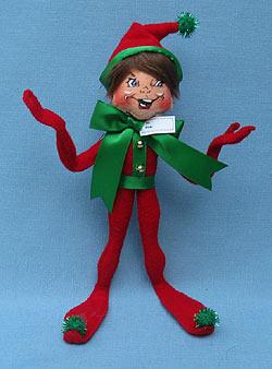 """Annalee 9"""" Wannabe Present Elf - Mint - 500609"""