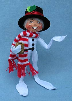 "Annalee 9"" Wannabe Snowman Elf - Mint - 500709"