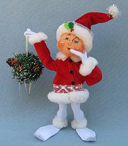 """Annalee 9"""" Icicle Elf - Mint - 5007101ooh"""