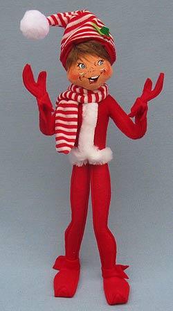 "Annalee 14"" Red MerryMint Elf  2014 - Mint - 501014"