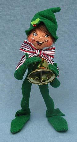 "Annalee 9"" Wannabe a Jingle Bell Elf - Mint - 501310"