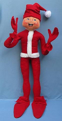 "Annalee 48"" Red Christmas Elf - Near Mint - 503004"