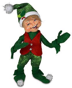 "Annalee 5"" Evergreen Elf 2021 - Mint - 510221"
