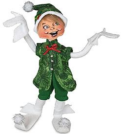 "Annalee 9"" Evergreen Elf 2021 - Mint - 510621"