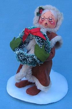 "Annalee 7"" Old World Mrs Santa - Mint - 515296"