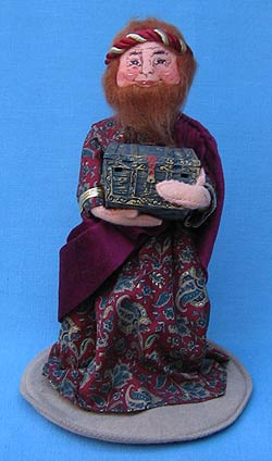 "Annalee 10"" Nativity Wiseman with Gold - Mint - 543497"