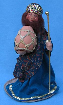 """Annalee 10"""" Nativity Wiseman with Myrrh - Mint - 543597"""