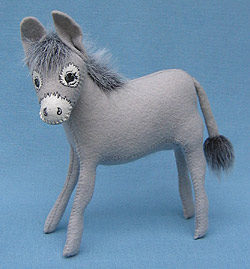 "Annalee 8"" Donkey - Mule - Nativity - Mint - 543897"