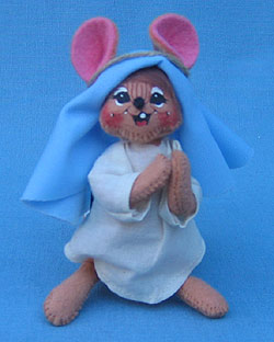 "Annalee 4"" Mary Nativity Mouse - Mint - 544303"