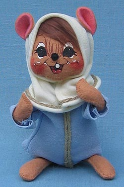 """Annalee 6"""" Mary Mouse - Mint - 544305"""