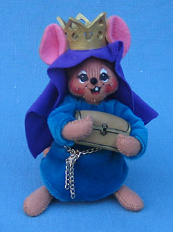 "Annalee 4"" Wiseman Nativity Mouse #1 - Mint - 544503"