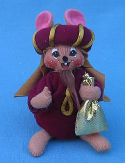 "Annalee 4"" Wiseman Nativity Mouse #2 - Mint - 544603"
