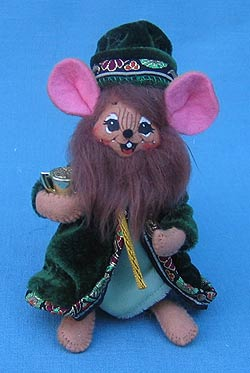 "Annalee 4"" Wiseman Nativity Mouse #3 - Mint - 544703"