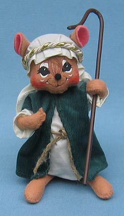 "Annalee 6"" Nativity Shepherd Mouse - Mint - 544806"