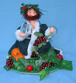 "Annalee 10"" Dickens Ghost of Christmas Present Holding Drink - Mint - 545696"