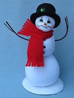 "Annalee 9"" Snowball Snowman 2017 - Mint - 550417"