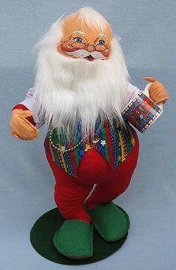 "Annalee 18"" Christmas Cheer Santa - Near Mint - 551300"