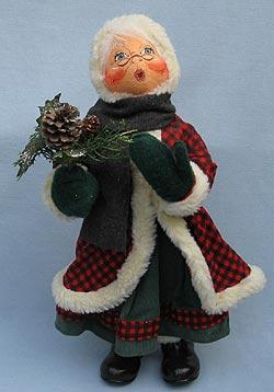 """Annalee 20"""" Mrs Woodsy Santa - Near Mint - 552904ooh"""