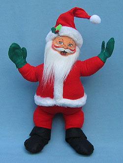 "Annalee 12"" Classic Santa - Excellent - 571006a"