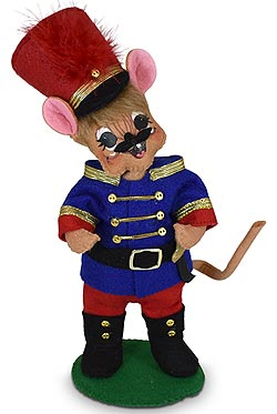 """Annalee 6"""" Wannabe a Toy Soldier Mouse 2020 - Mint - 611820"""